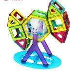 Kind-magnetische Plastikbaustein-Spielwaren