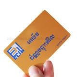 carte ultra-légère sans contact de PVC estampée par 13.56MHz MIFARE (r) EV1 pour le contrôle d'accès