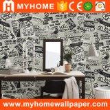 Papier peint Wallcovering de modèle moderne de caractère pour des murs de salle de séjour