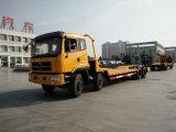 8X4 de la excavadora de la cabeza del tractor de 25 toneladas de transporte de camión de plataforma baja pavimentadora de asfalto camión portador