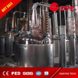 Equipo de la destilación del alcohol, destilador casero del alcohol para la venta