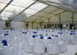 Barraca ao ar livre grande luxuosa do evento do casamento para 300 no branco