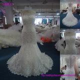 Платья венчания оптовых женщин хорошего качества безрукавный макси