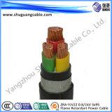Zr-Yjv0.6/1kv 4 x 120 + 1 x 70/LV/пламя - retardant/силовой кабель