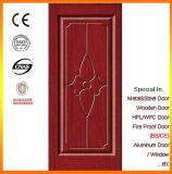 Porte intérieure Thermique-Isolée par chêne de porte en bois de modèle simple