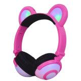 Smart Phones 의 PC, Kids를 위한 T F Card Support Bear Cat Ear Headphone