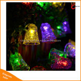 Jardim exterior decoração Solar Luz de String para festas festival e lâmpada LED Dress Up