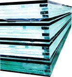 vidrio incombustible de cristal resistente al fuego de la Vidrio-Seguridad de 16m m -32mm