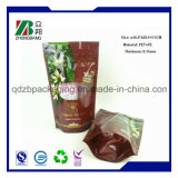 Zipper를 가진 Food Packaging Pouch 높은 쪽으로 주문 Printing Plastic Stand