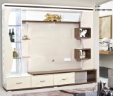 Moderner Wohnzimmer-Holz Fernsehapparat Cabient mit Glastür