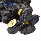Дешевые образцы оптовых индийского ослабление волн Реми Virgin волос человека