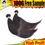 自由なマレーシア人の人間の毛髪は女性のために染まった