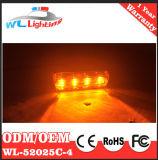 4W Lampen van de Teller van de LEIDENE de ZijIndicator van de Richting voor de Aanhangwagen van de Vrachtwagen