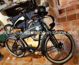 48V Bijl Elektrische Bicycle/350W Elektrische Bike/E Bicycle/750W E Bike/500W Retro Pedelec, de Dubbele VoorSchok En14176 van de Kruiser van het Strand van het lithium de Uitstekende Klassieke 250W van W