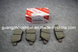 Pastillas de freno coche Japón 04466-28110 para Toyota previa de la ACR50