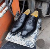 Ботинки свадебного банкета Италии верхних материалов верхнего сегмента качества ранга роскошных кожаный для людей