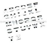 3D Metal OEM Car letra del alfabeto adhesivo número