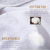 Tamanho Protetor-Cheio misturado do colchão impermeável do algodão poliéster branco