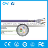 Tipo superiore del cavo SFTP di vendita calda CAT6A Sf/UTP del cavo di Ethernet per cavo di lan del tester