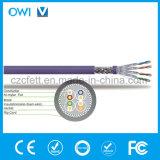 Cable de Ethernet de alta calidad Venta caliente CAT6SF/Cable UTP tipo SFTP por metro Cable LAN