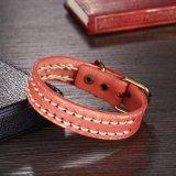 Les hommes, femmes réglable en alliage de cuir véritable Bracelet Bangle