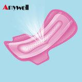 Serviettes respirables de Sanitarty de coton femelle en gros (30PCS+10PCS)