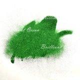 Pigmento dell'ombretto di trucco di colore verde, polvere di scintillio
