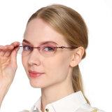 Leitor de óculos para óculos de leitura sem caixilho para Mulheres