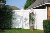 Декоративный сад ПВХ ограждения