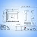 Grafische LEIDENE 12864LCD van Syb128X64 Kzkv15 Witte Geelgroene Backlight