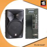 15 Zoll PROaktiver Plastiklautsprecher PS-5615abt USB-200W Ableiter-FM Bluetooth