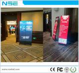 WiFi를 가진 인조 인간 지면 대 디지털 Signage/LED 상업 광고 전시 화면