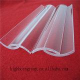 Placa de cristal excelente de cuarzo del arco de la calidad