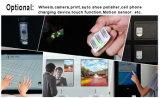 금속 상자 Frameless 10.1 인치 Touchscreen는 열린 구조 모니터를 비 만진다