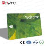 Cartão de papel da impressão RFID de Cmyk para o pagamento do bilhete