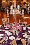 Candeliere di vetro di Crsytal per la Tabella pranzante dell'hotel