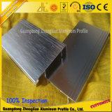 Aluminium bordant la ligne profil de bordage en aluminium pour la décoration