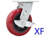 Faible coût des roues pivotantes en caoutchouc de haute qualité