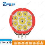 Nuevas luces impermeables redondas del trabajo de conducción del alimentador 90W LED