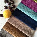 Malha de poliéster 100 Flower impresso tecido sofá novo
