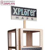 [بوس] [كستوم-مد] خريطة [ديسبلي رك] يجعل من خشب
