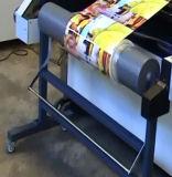 Lamineur de film de carton ondulé de base de l'eau du guichet Kfm-1020