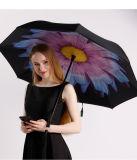 [دووبل لر] [ك] مقبض عكس يعكس [سون] & مطر مظلة خارجيّة