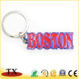 anello chiave Boston dell'aragosta di 3D di figura della vernice del metallo BRITANNICO del ricordo