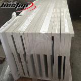 A produção da fábrica direto topos de quartzo branca bancadas laminado prefabricadas