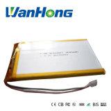 batterie de Li-Polymère de 407090pl 3000mAh pour le pouvoir Bank/POS