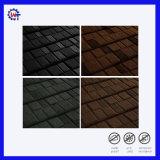Poids léger résistant de bardeaux de toit de métal recouvert de carrelage en pierre