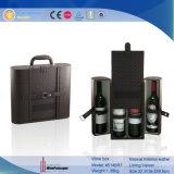 Классическая пользовательское поле вина из натуральной кожи упаковке Wholesales (5146)