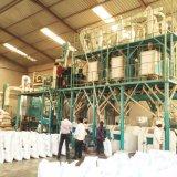Mercado 50t de África por a planta da fábrica de moagem do milho 24h