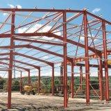 Estructura de acero de la luz de larga duración de la planta de taller